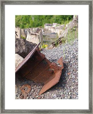 Freda Stamp Mill Framed Print by Jenessa Rahn