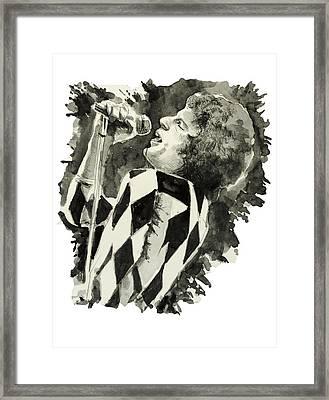 Freddie Mercury Framed Print by Bekim Art