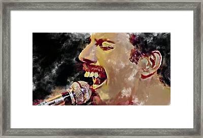 Freddie Mercury Queen 4 Framed Print