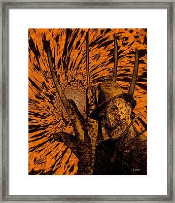 Freddy Framed Print by Brian Dearth