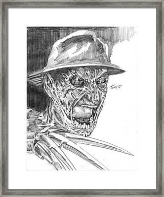Freddy Framed Print by Christopher Torres