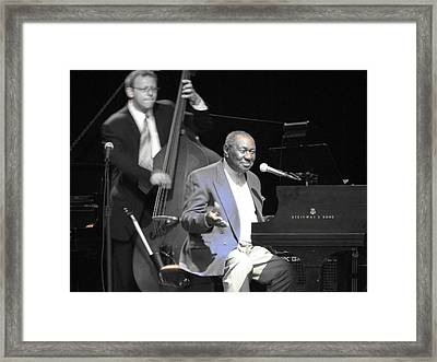 Freddy Cole And Elias Bailey Framed Print by Cleaster Cotton