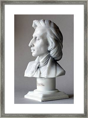 Frederic Chopin Bust Framed Print