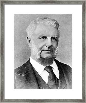 Frederick Abel Framed Print by Science Photo Library