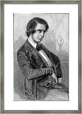 Frederick Augustus Abel Framed Print by Universal History Archive/uig