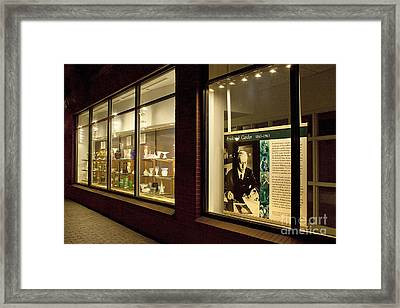 Framed Print featuring the photograph Frederick Carter Storefront 1 by Tom Doud