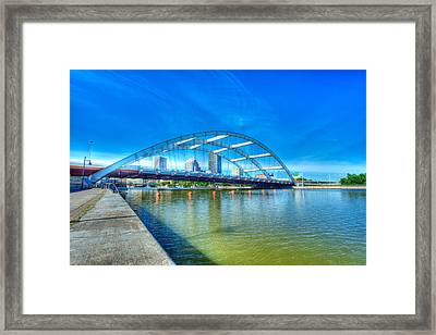 Frederick Douglass Susan B. Anthony Memorial Bridge Framed Print