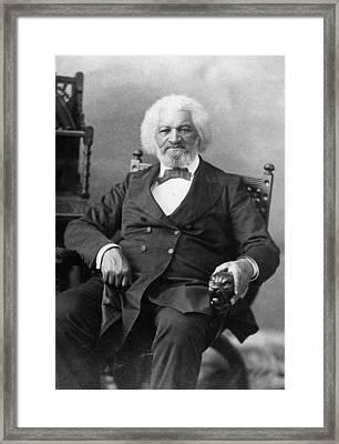 Frederick Douglass(c1817-1895) Framed Print by Granger