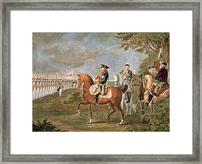 Frederick II The Great (1712-1786 Framed Print by Prisma Archivo