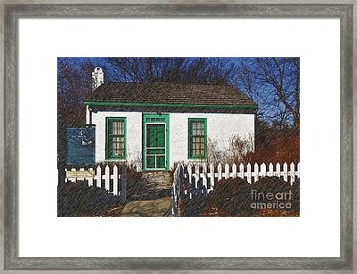 Frederick M Smith Study Framed Print by Liane Wright