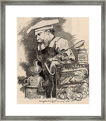 Frederick Settle Barff Framed Print by Universal History Archive/uig