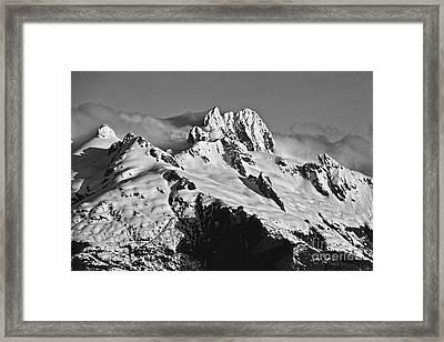 Framed Print featuring the digital art Frederick Sound  Alaska by Shirley Mangini