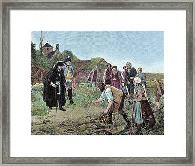 Frederick The Great (1712-1786 Framed Print by Prisma Archivo