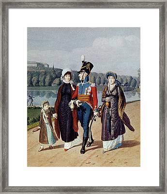 Frederick Vi Of Denmark Framed Print by Granger