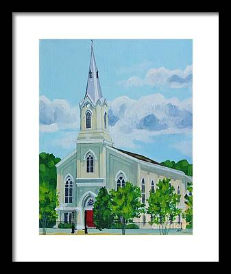Fredericksburg Baptist Church Framed Prints