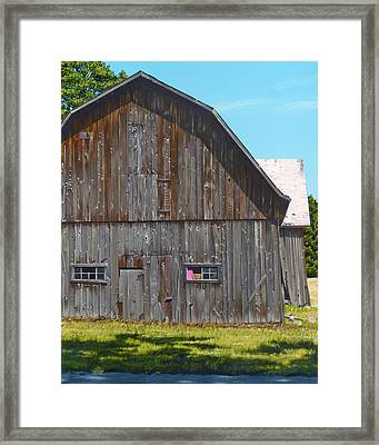 Frederickson Road Framed Print by Michael Ward