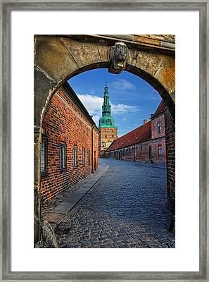 Frederiksborg Castle Hillerod Denmark Framed Print by Carol Japp