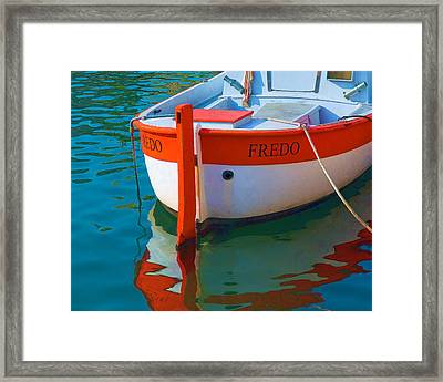 Fredo Framed Print by Joan Herwig