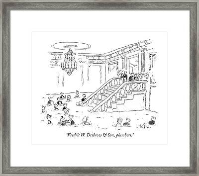 Fredric W. Desbrow & Son Framed Print