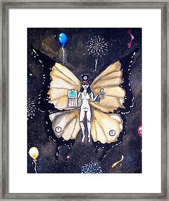 Free As A New Years Resolution Framed Print by Shana Rowe Jackson