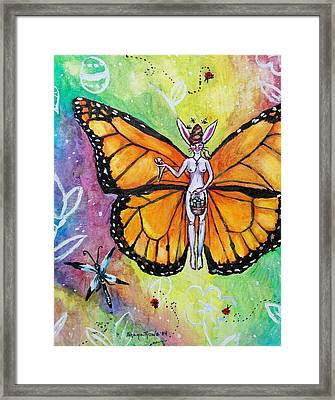Free As Easter Faith Framed Print by Shana Rowe Jackson