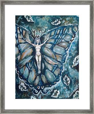Free As The Wind Framed Print by Shana Rowe Jackson