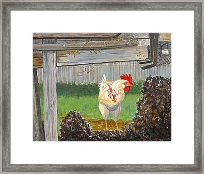 Framed Print featuring the painting Free At Last by Dan Redmon