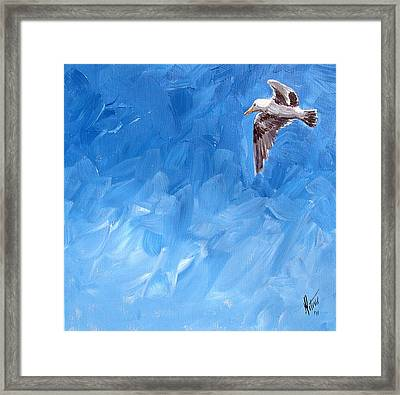 Free Bird Framed Print by Gregory Peters