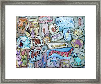 Free Entry In The Zoo Framed Print by Florin Birjoveanu