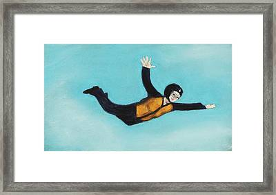 Free Fall Framed Print by Anastasiya Malakhova