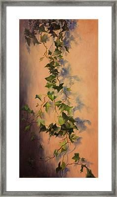 Free Flow Framed Print by Debbie Lamey-MacDonald