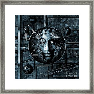 Free From This All Framed Print