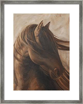 Free Gal Framed Print by Carol Grieve