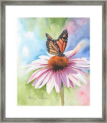 Free Indeed Framed Print by Kathy Nesseth