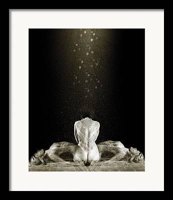 Odalisque Digital Art Framed Prints