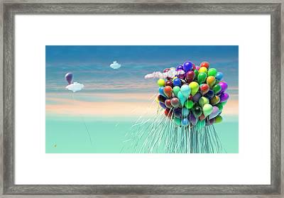 Free Like A Bird Framed Print by Adam Vance