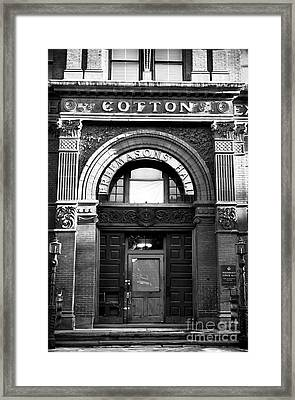 Free Mason's Hall Framed Print