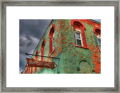 Free Parking Framed Print