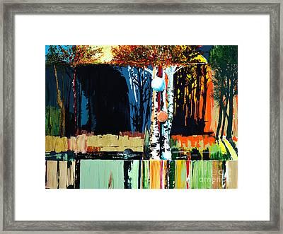 Free Radicals Framed Print by Allen Zimmerman