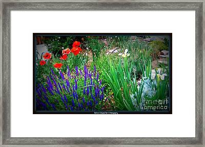 Free To Be Wild Framed Print by Bobbee Rickard