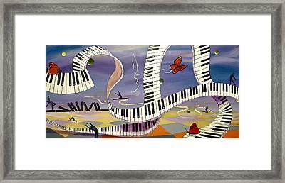 Free To Fly Framed Print by Tammy Watt