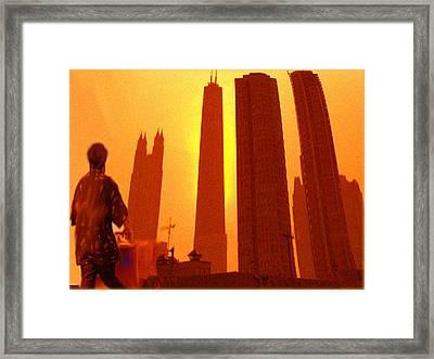 Free Trade Zone Framed Print by Dennis Buckman