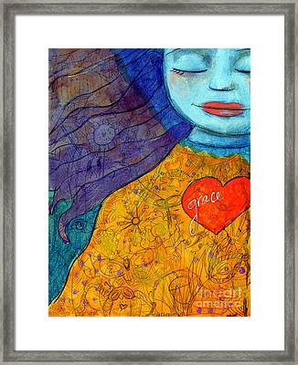 Free Your Mind And Grace Will Follow Framed Print