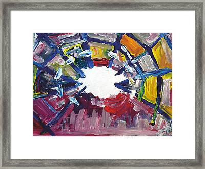 Free Your Mind From Mental Slavery Framed Print by Bob Usoroh