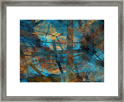 Free Your Mind  Framed Print by Menega Sabidussi