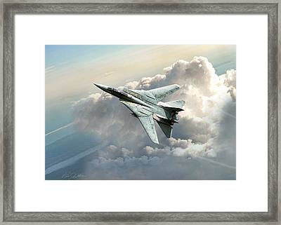Freebird Framed Print by Peter Chilelli