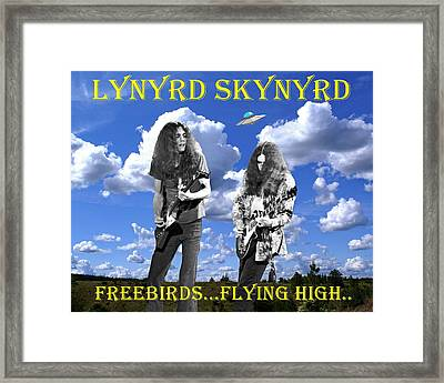 Freebirds Flying High Framed Print