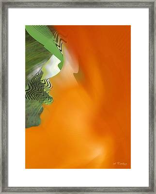 Freed Framed Print by Roy Erickson