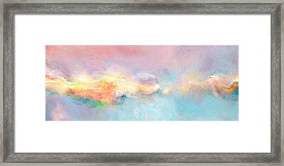 Freedom - Abstract Art Framed Print