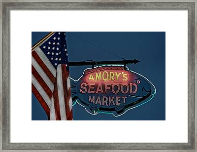 Freedom And Free Enterprise Framed Print